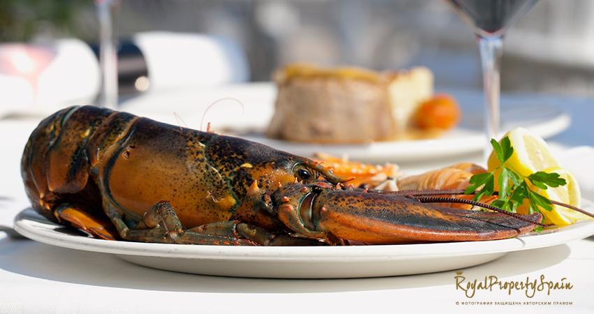 Испанская кухня - Лобстер средиземноморский