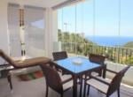 Солнечные апартаменты с видом на море и горы