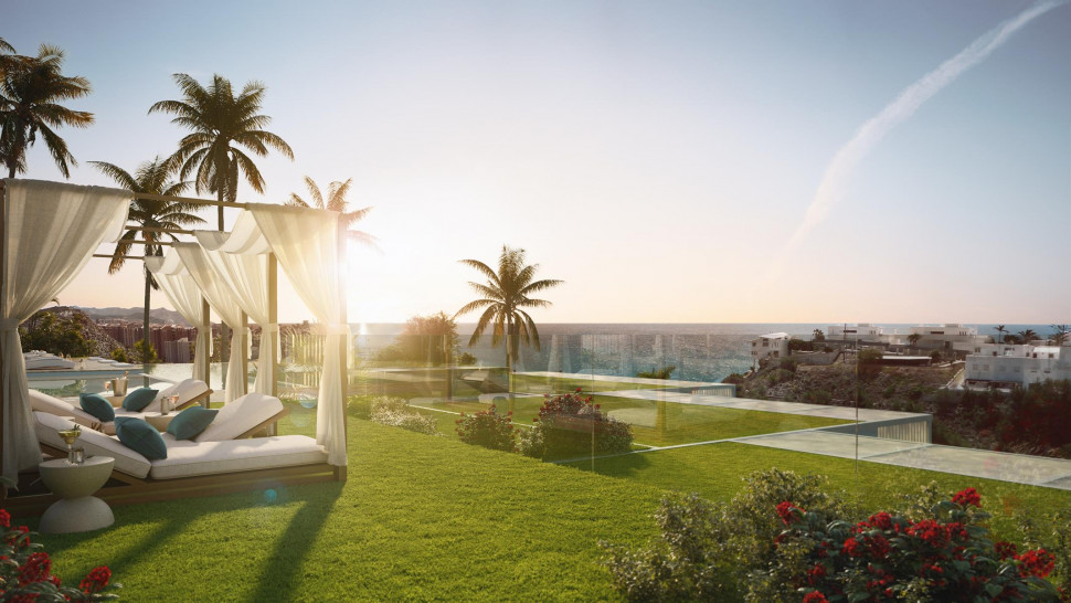 Penthouses with sea-view in Villajoyosa just   meters from the beach