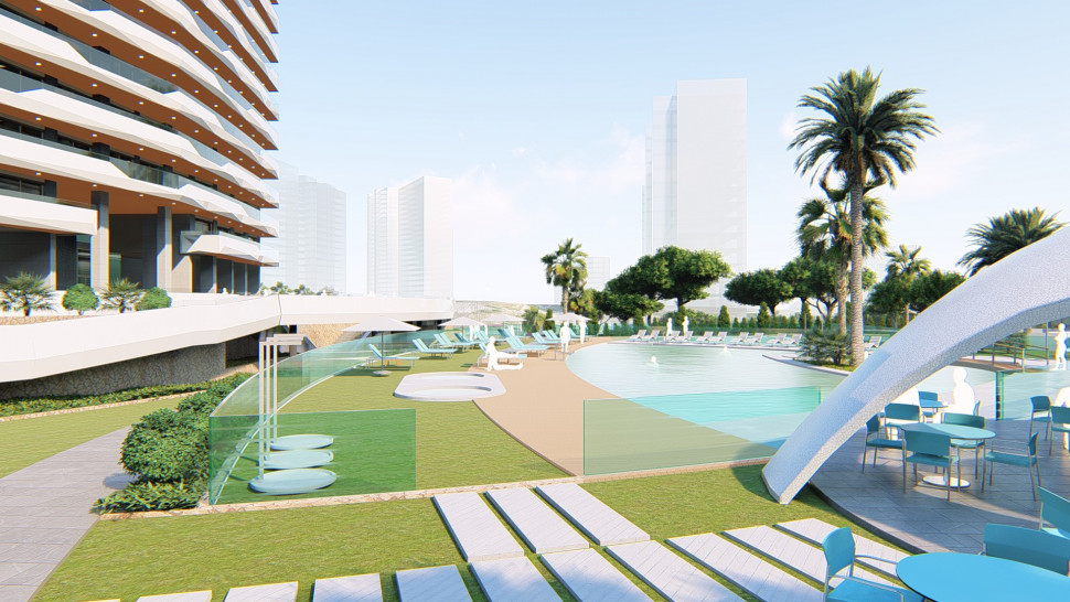 New apartments in Benidorm
