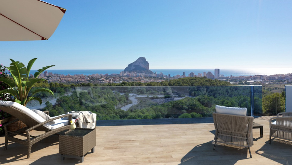 Elegant apartment in Calpe
